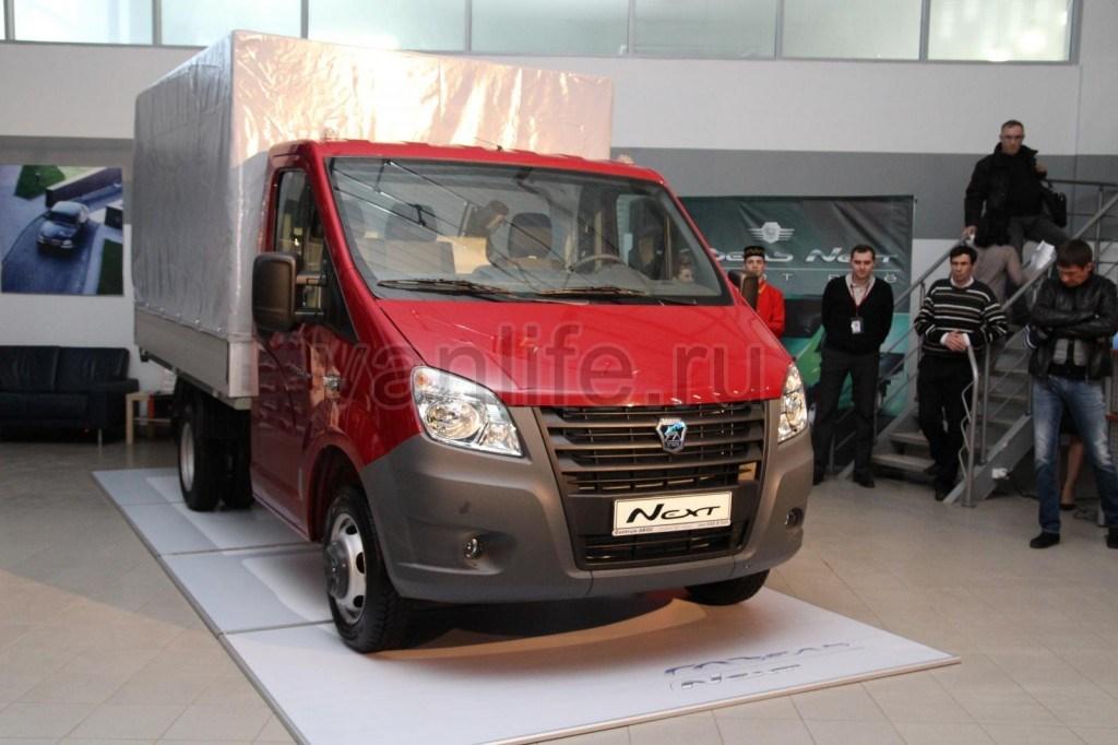 Газель-NEXT фургон – «следующий» в российском семействе