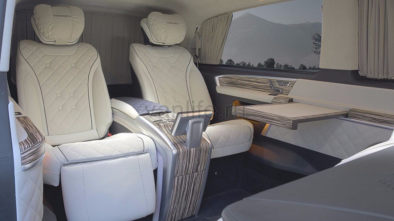 Mercedes V-Class Mansory: очередной мобильный офис класса «люкс»