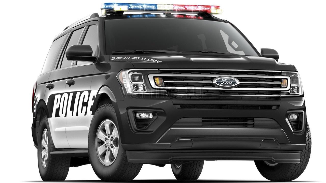 Новый пикап Ford F-150 примерил полицейскую форму