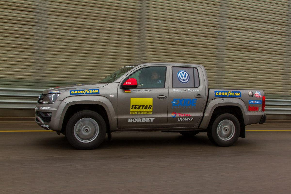 Volkswagen Amarok V6 3.0 TDI готов установить новый рекорд