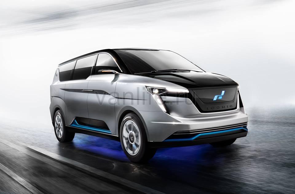 Компания W Motors запустила роскошный электрический минивэн в Китае