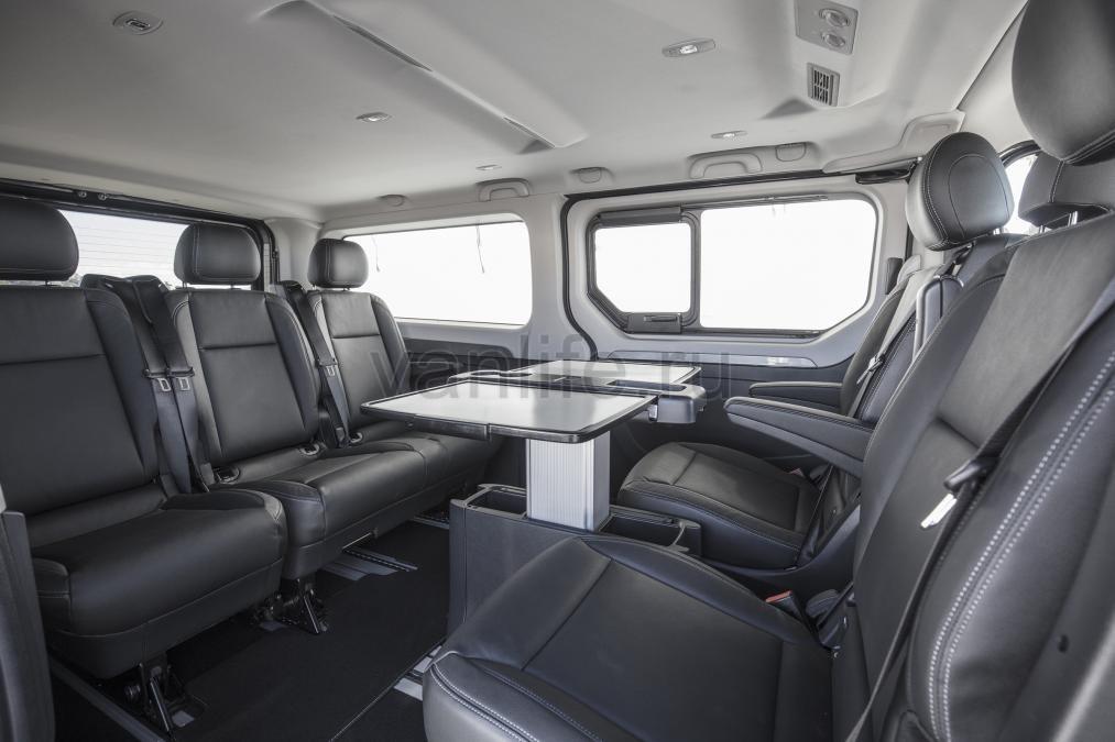 Компания Renault представила новый девятиместный шаттл Trafic SpaceClass