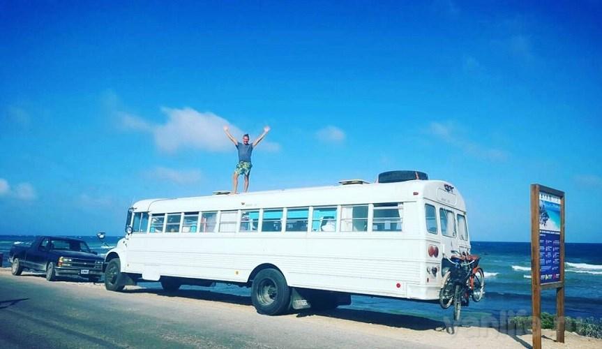 «Мексиканский блог белоруса»: хостел на колёсах 12