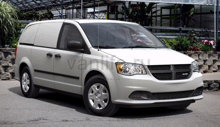 Технические характеристики Ram Cargo Van 2015