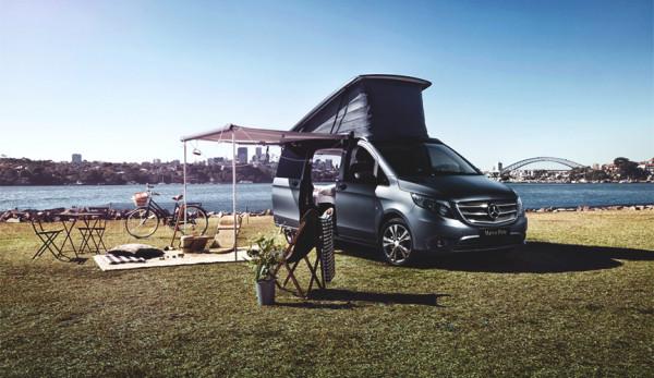 Mercedes-Benz Vans Australia и Airbnb организуют специальный кемпинг с Marco Polo ACTIVITY