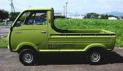 Mazda Porter Cab – маленький японский грузовичок
