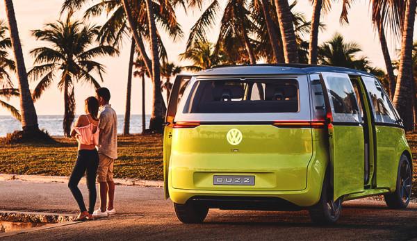 Минивэн Volkswagen I.D. Buzz запустят в производство в 2022 году