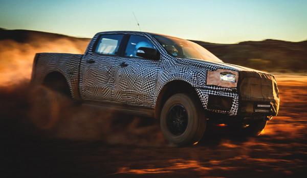 Компания Ford представит новый пикап Ranger Raptor в 2018 году