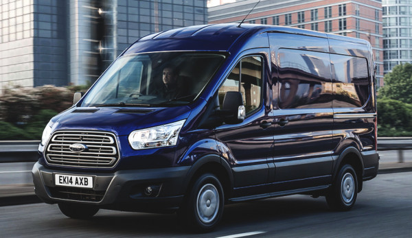 Российские продажи фургона Ford Transit продолжают расти в октябре