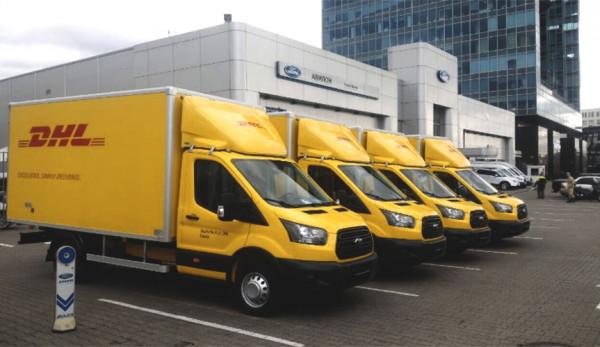 Автопарк компании DHL пополнился новыми фургонами Ford Transit