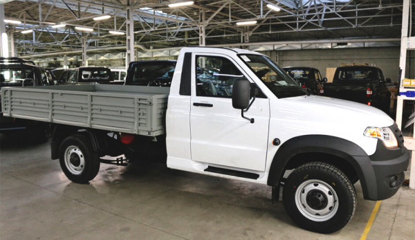 УАЗ Профи с газобаллонным оборудованием поступил в продажу