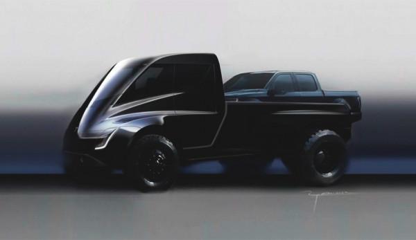 Представлен первый пикап от Tesla