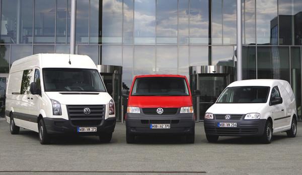 Компания Volkswagen увеличила продажи автомобилей LCV корпоративным клиентам за 10 месяцев