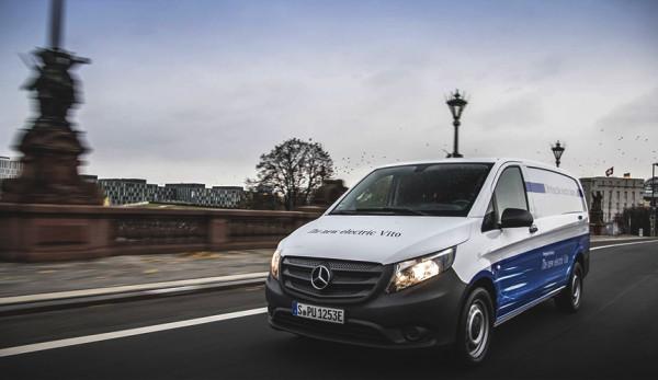 Электрический фургон Mercedes-Benz eVito запущен в продажу