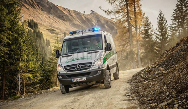 «Mercedes-Benz Sprinter 4x4» для спасательных служб