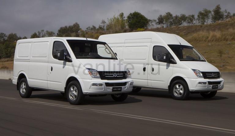 Технические характеристики «LDV V80» - трудоспособный фургон