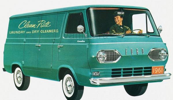 История FORD Falcon Econoline Van