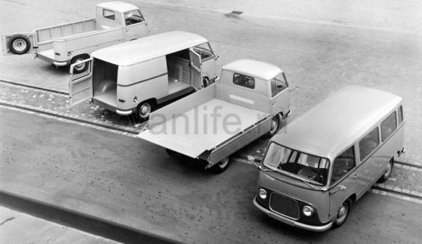 История Фургона Ford transit
