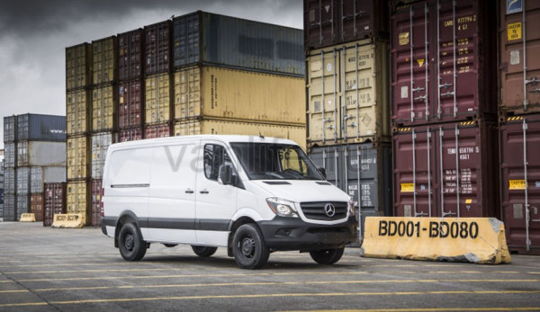 Фургон Mercedes-Benz Sprinter Worker