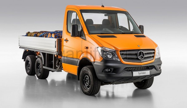 Трёхосный Mercedes-Benz Sprinter