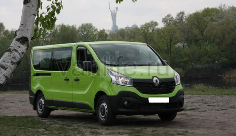 Технические характеристики Renault Trafic (Рено Трафик)