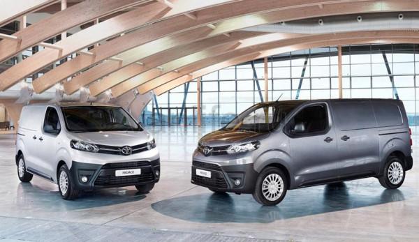 Toyota Proace очередная зарубежная новинка 2016 года
