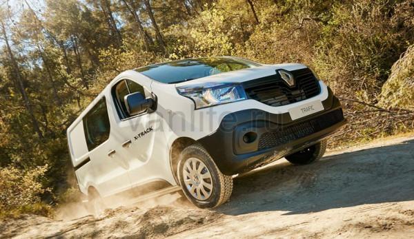 Компания Renault выпустила обновлённые полноприводные фургоны