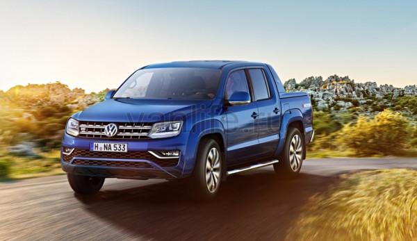 В России объявлен старт продаж обновлённого Volkswagen Amarok