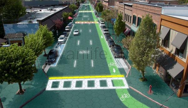 В Америке в конце этого года появится дорога из солнечных панелей