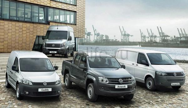 Volkswagen Коммерческие автомобили показал рост объёма мировых продаж