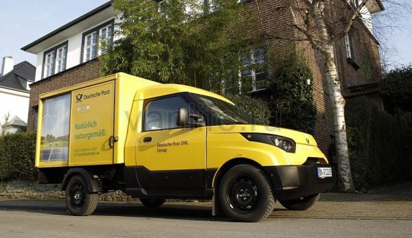 В 2017 году стартуют продажи электрических почтовых фургонов «StreetScooter»