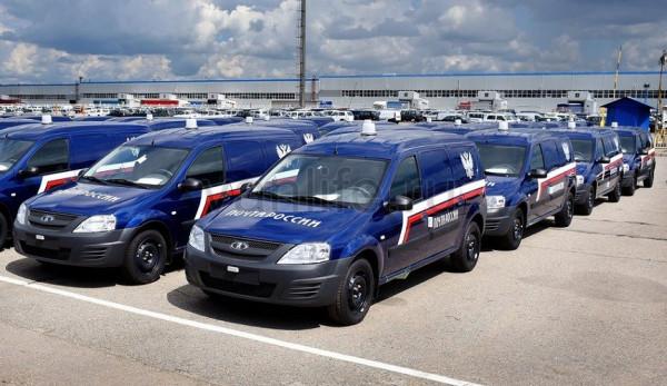 «Почта России» получит партию фургонов LADA Largus
