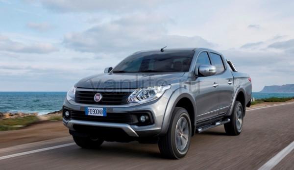 Продажи нового пикапа Fiat Fullback стартовали в России