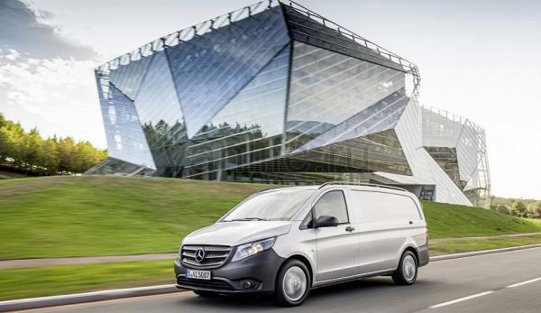 В Китае запущено производство фургона Mercedes-Benz Vito
