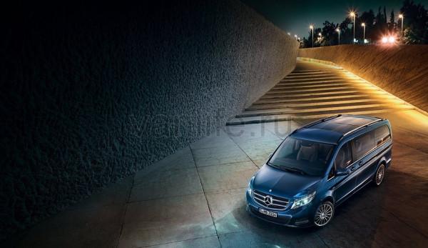 Mercedes-Benz V-Class Exclusive теперь и в России