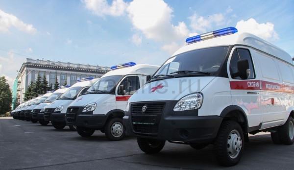 Партию новых автомобилей скорой медицинской помощи передали Чечне и Забайкальскому краю