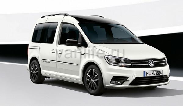 На выставке IAA будет представлена спецверсия Volkswagen Caddy Edition 35