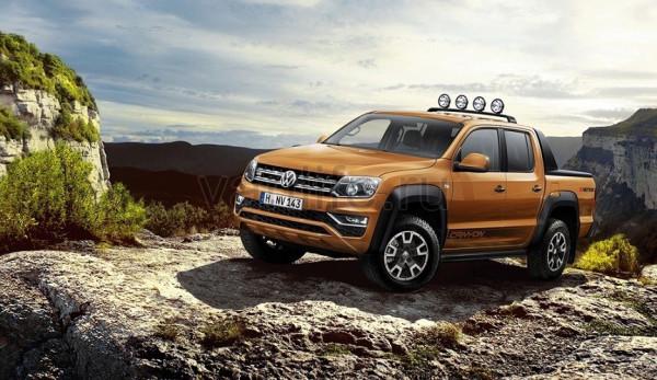 В Ганновере компания Volkswagen представит обновлённые версии пикапа Amarok