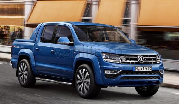 Объявлены российские цены на обновлённый Volkswagen Amarok