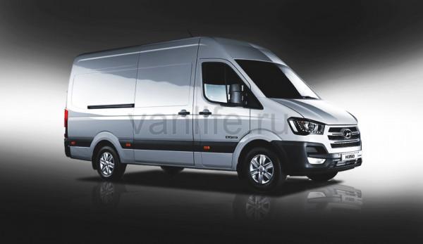 Hyundai H350 Fuel Cell Concept – фургон на водородном топливе