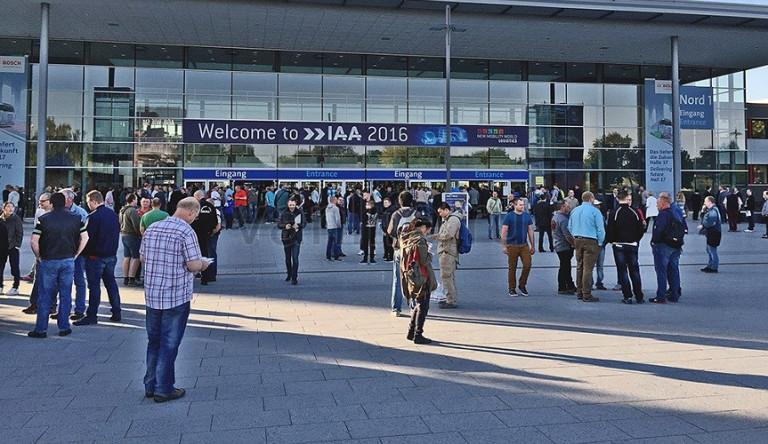 Добро пожаловать на выставку IAA 2016!