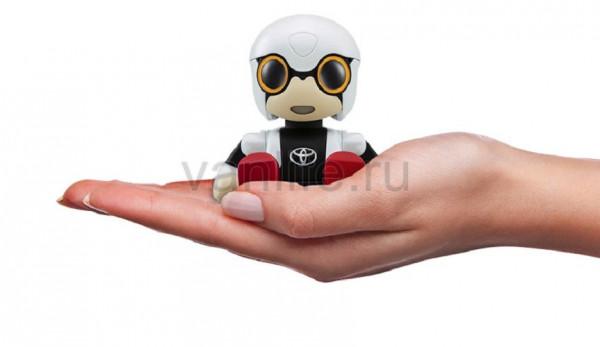 Робот-компаньон Kirobo Mini для одиноких водителей от марки Toyota
