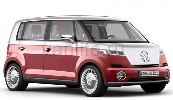 Компания «Volkswagen» возвращает знаменитый «Microbus»