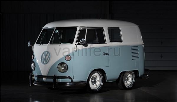 Переделанный VW Bus выставили на аукцион в Лас-Вегасе