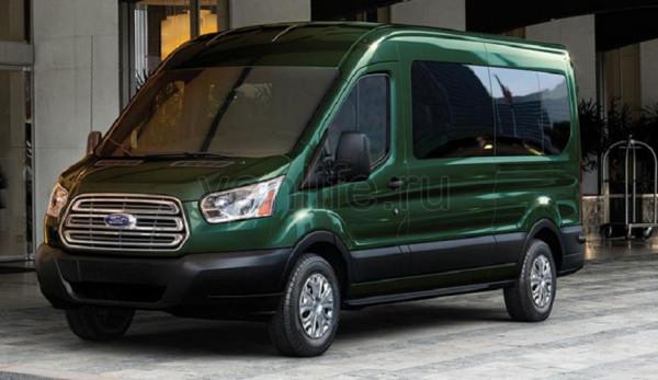Самым популярным фургоном в мире назван Ford Transit