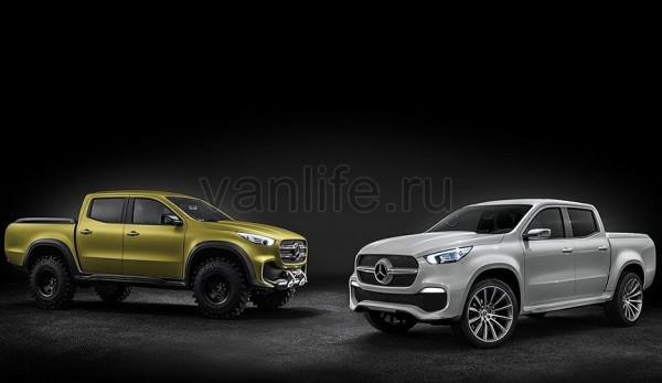 Пикап Mercedes-Benz X-Class представлен официально