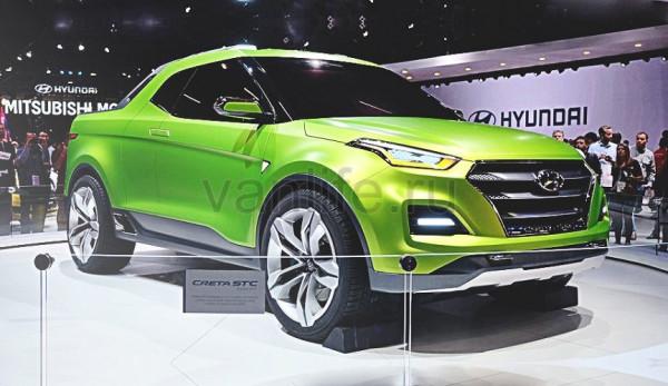 Внедорожник Hyundai Creta стал пикапом