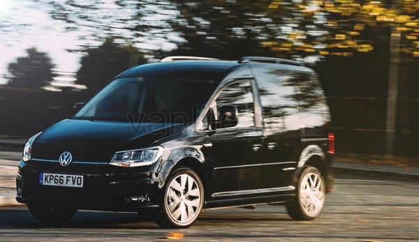 Спецверсия Volkswagen Caddy Black Edition выходит на британские рынки