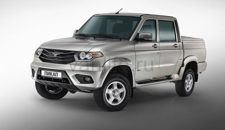Объявлены цены на новый УАЗ «Пикап»