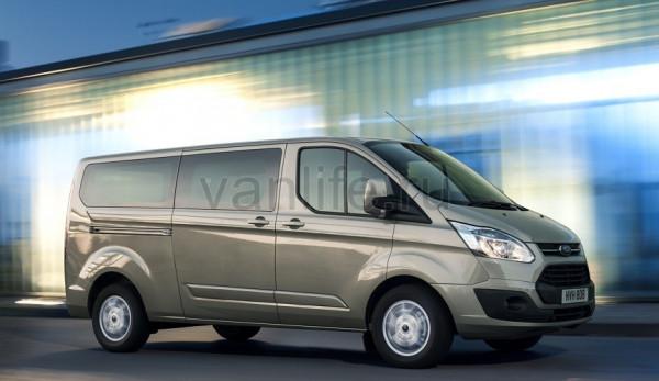 Стали известны цены на фургоны Ford Transit Custom и Tourneo Custom